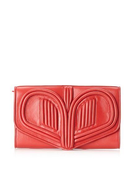 Bracher Emden, Heart Clutch, Red, $239 (was $629)