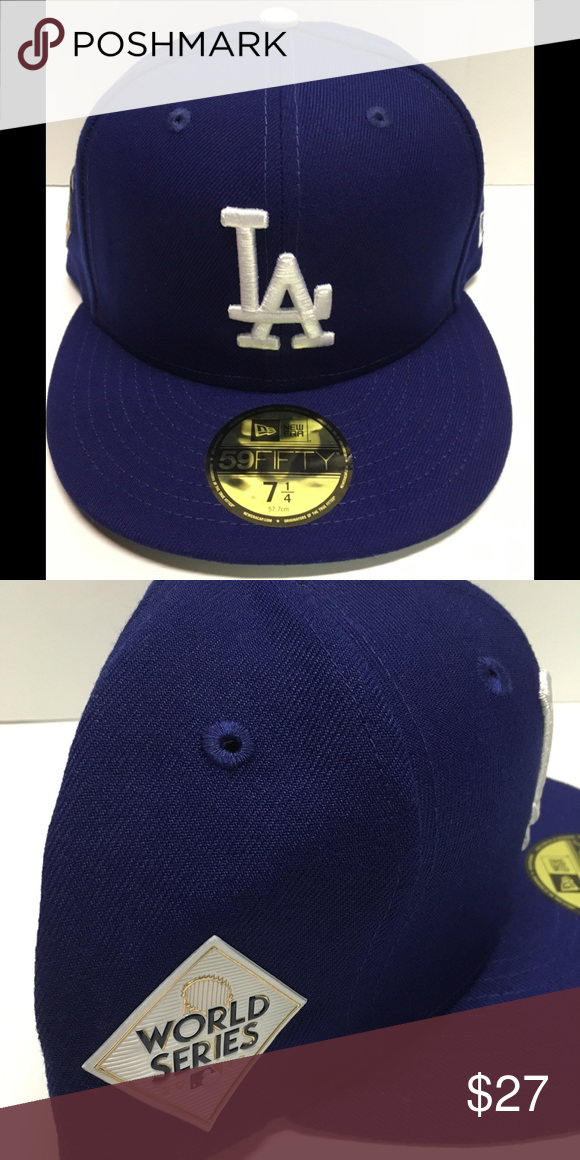 Los Angeles Dodgers New Era Fitted Hat Fitted Hats New Era Fitted New Era