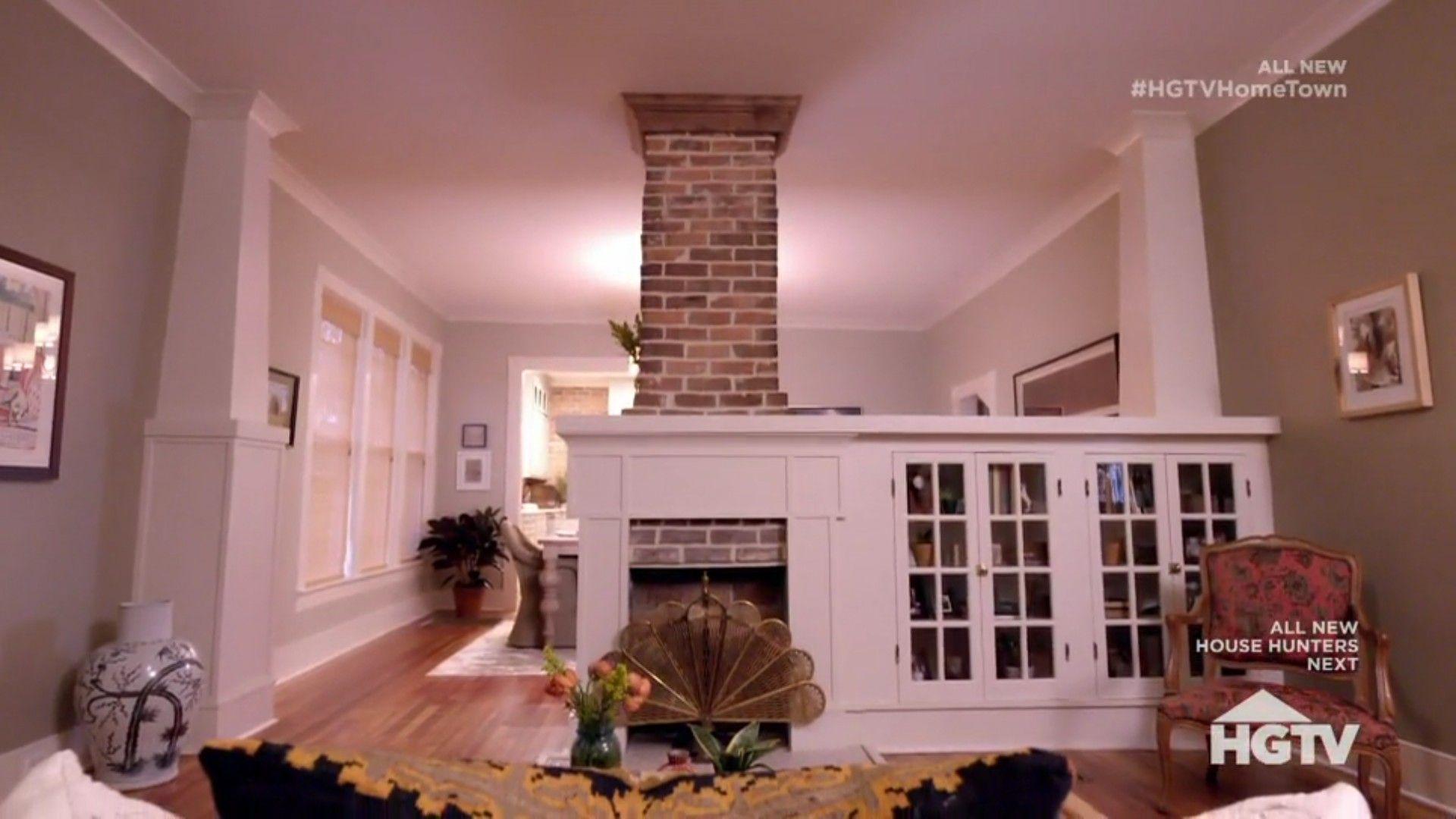 Hgtv Hometown Season 2 Episode 8 Updated Original Fireplace Home Town Hgtv Cottage Style Homes Craftsman Cottage