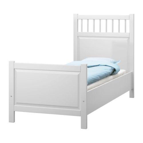 Ikea Us Furniture And Home Furnishings Hemnes Bed Single Bed Frame Ikea Hemnes Bed