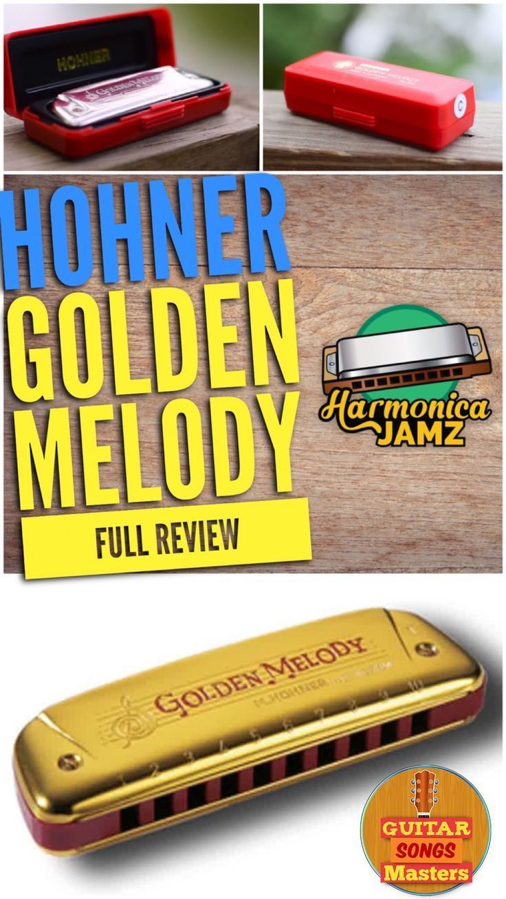 Hohner Golden Melody Review + Video The Pretty Lady in