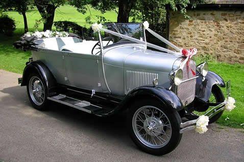 Antique Model A Ford Cars Wedding Kendal Lancaster Vintage