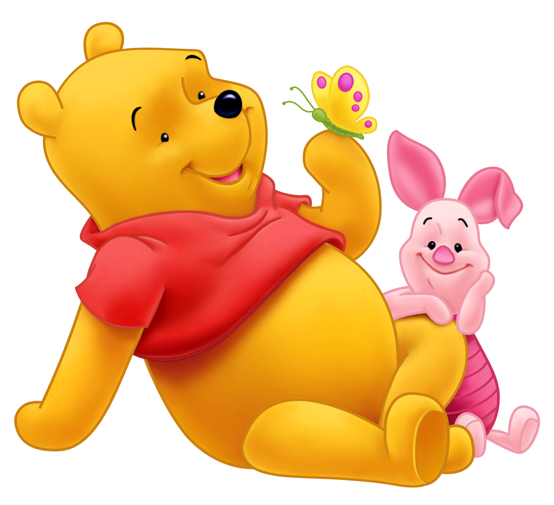 Winnie the Pooh and Piglet PNG Picture | Crafts ...