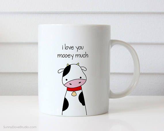 eb05b800504 Funny Coffee Mug For Boyfriend Girlfriend Birthday Anniversary I Love You  Pun Quote Cute Kawaii Fun Mugs Gifts Cup Cups Wife Husband Her Him I Love  You ...