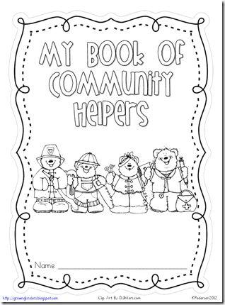 community helpers book of concept webs jnovakow