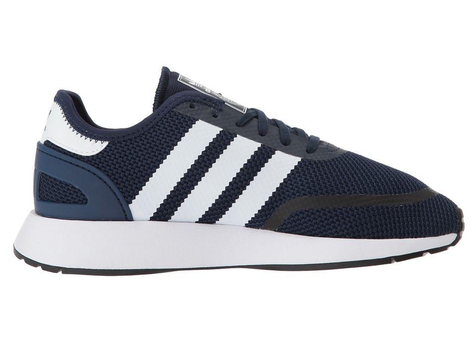 90e0744edc35 adidas Originals Kids N-5923 CLS J (Big Kid) Boys Shoes Collegiate  Navy Chalk White