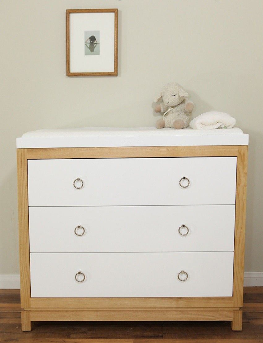 Charming Modern Changing Table Dresser