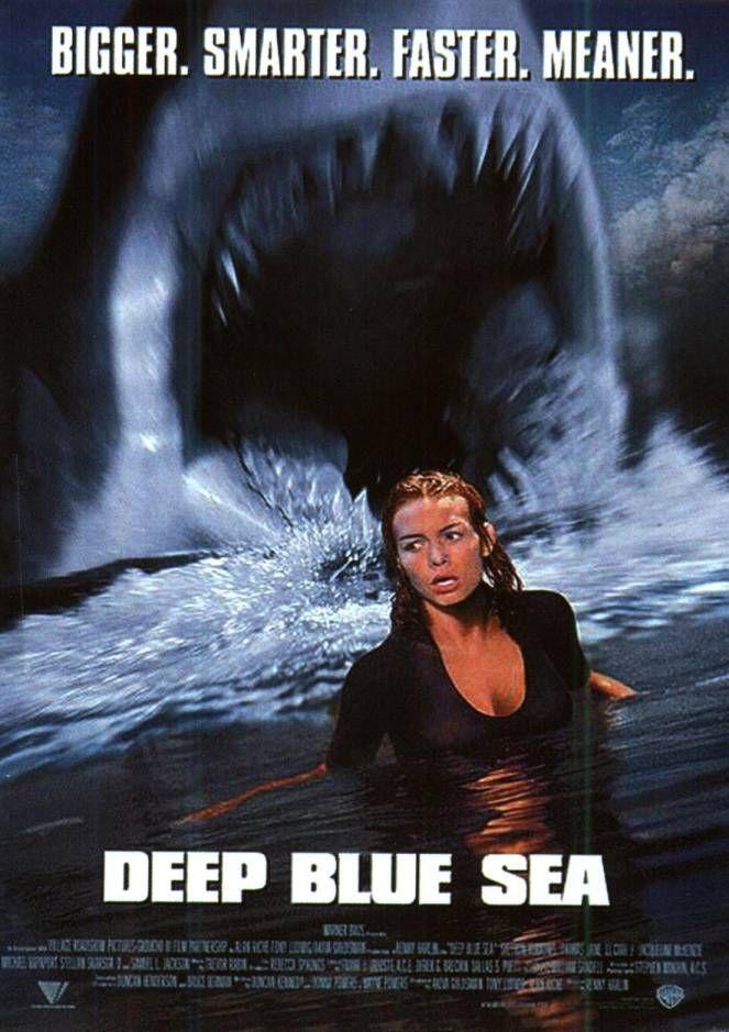 Deep Blue Sea Deep Blue Sea Movie Blue Sea Movie Deep Blue Sea 1999