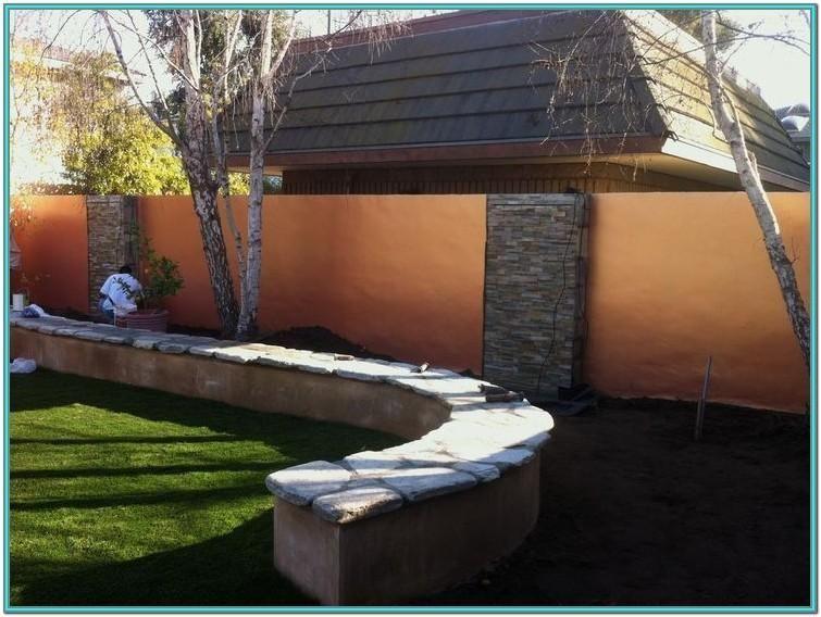 Outdoor Cinder Block Wall Paint Ideas Block Cinder Gardengarageideasdiyprojects Ideas 2020