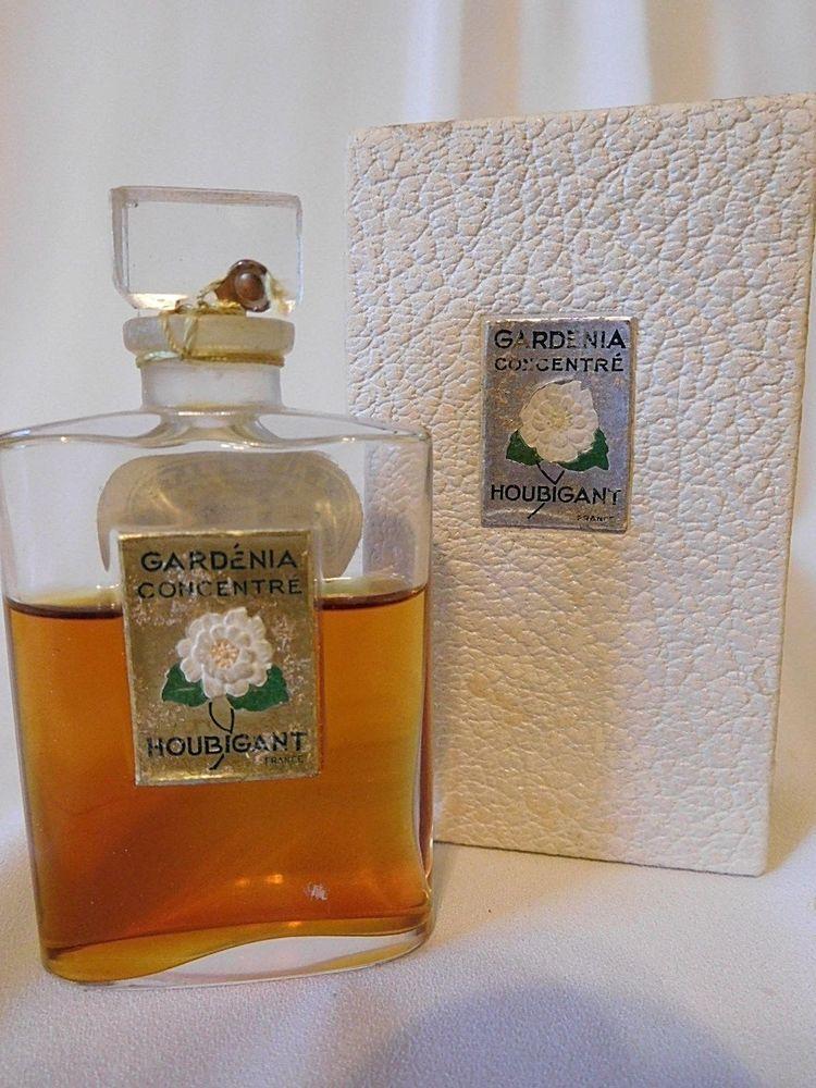 Vintage Houbigant Gardenia Concentre Parfum Perfume Sealed