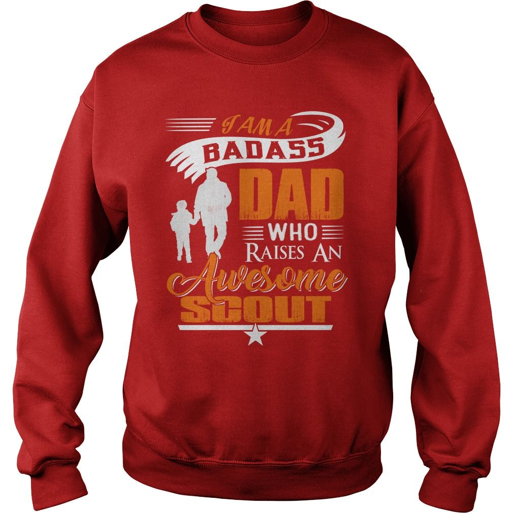 1d052545 SCOUT of Awesome Dad T Shirt | Scout | Pinterest