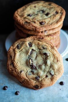 The Best Ever Chocolate Classic Chip Cookies