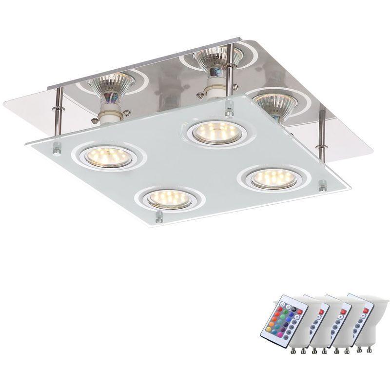 Stofflampe Decke Designer Deckenleuchte Schlafzimmer Led