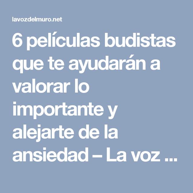 6 peliculas budistas