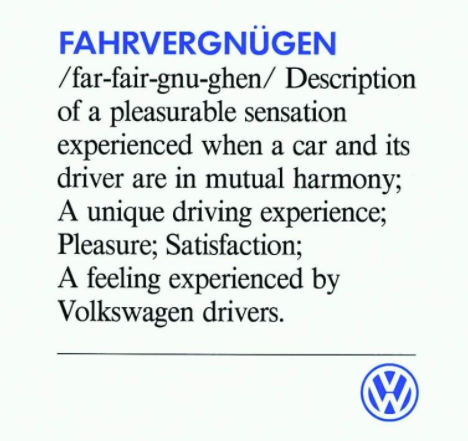 Fahrvergnugen Driving Experience I Want To Travel Feelings Did you scroll all this way to get facts about farfegnugen? pinterest