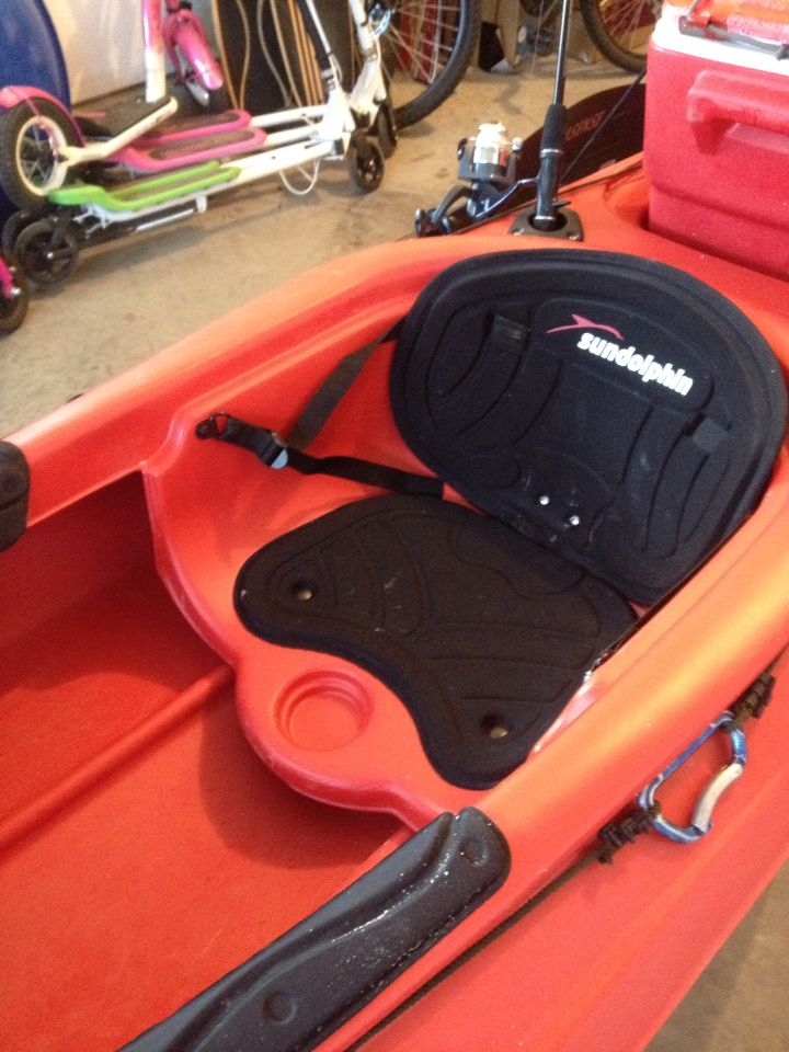 I Will Leave In The Original Seat The High Seat Will Sit Over This One Without Any Kayak Modifications Sit On Kayak Kayak Seats Kayaking
