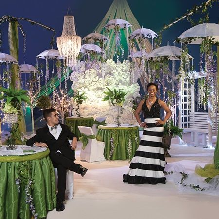 Enchanted Gardens Complete Prom Theme