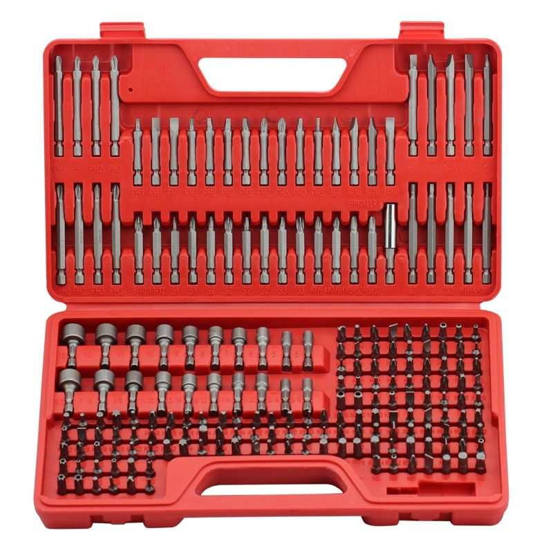 Craftsman 208 Piece Ultimate Screwdriver Bit Set Screwdriver Bits Craftsman Tools Power Tools