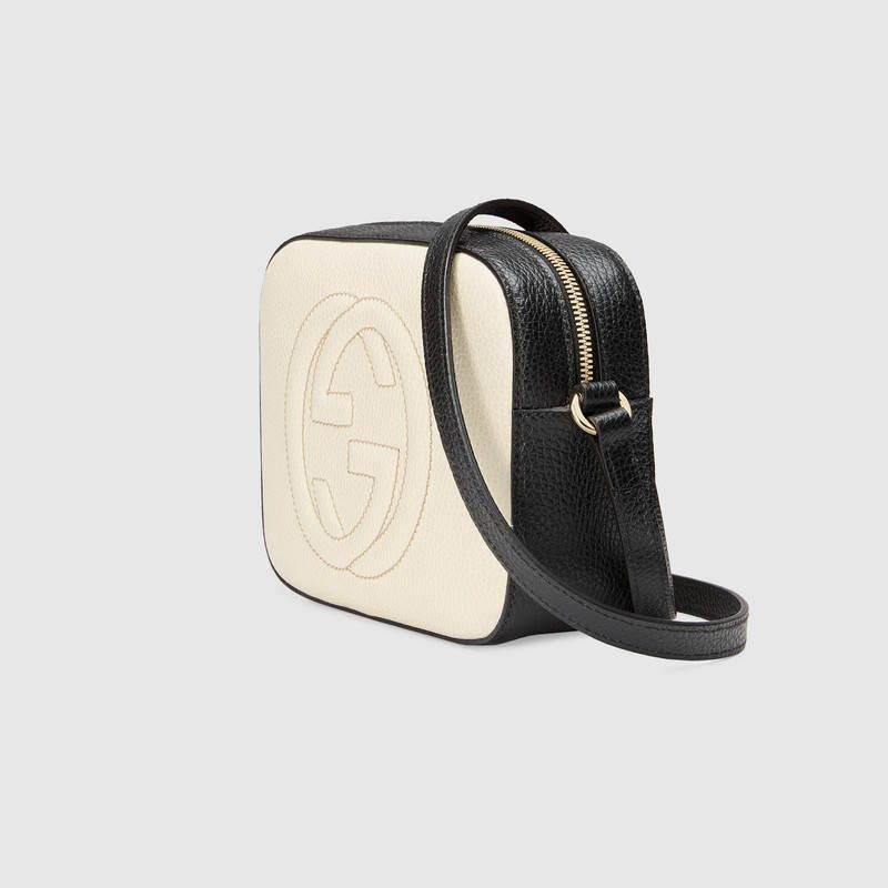e6ca42280666 The Gucci White Calfskin Leather Soho Shoulder Bag is a top 10 member  favorite on Tradesy.