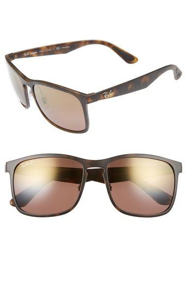 933818f1dc7 RAY-BAN 58mm Chromance Sunglasses.  ray-ban