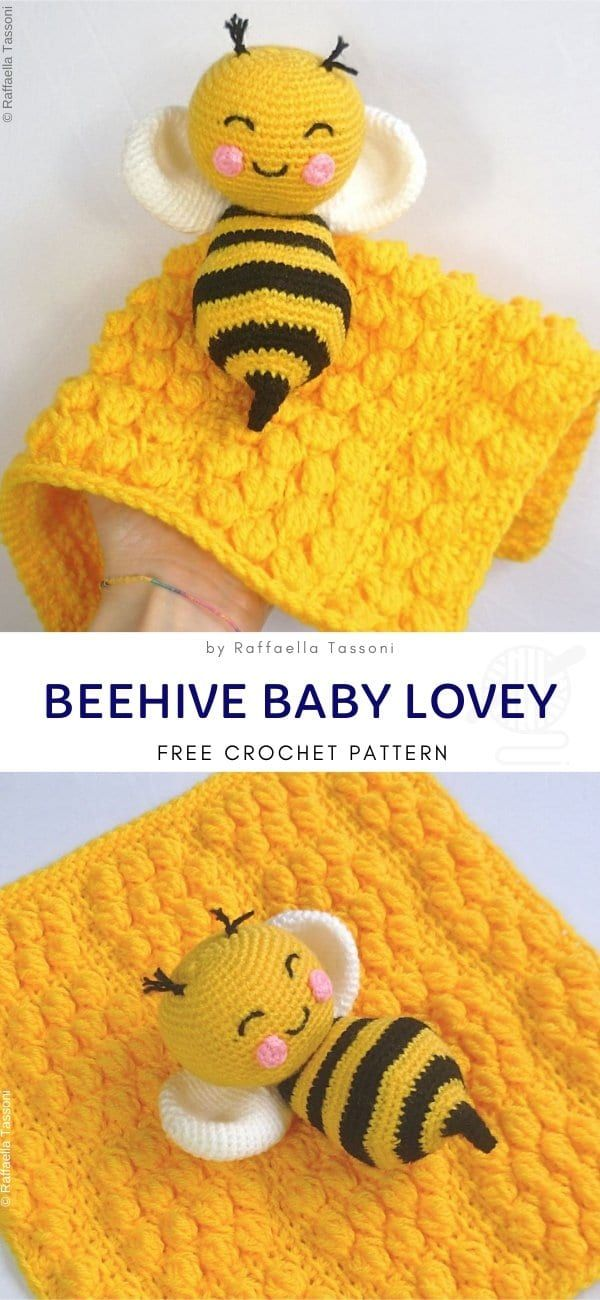 Sweet Sleepy Crochet Loveys