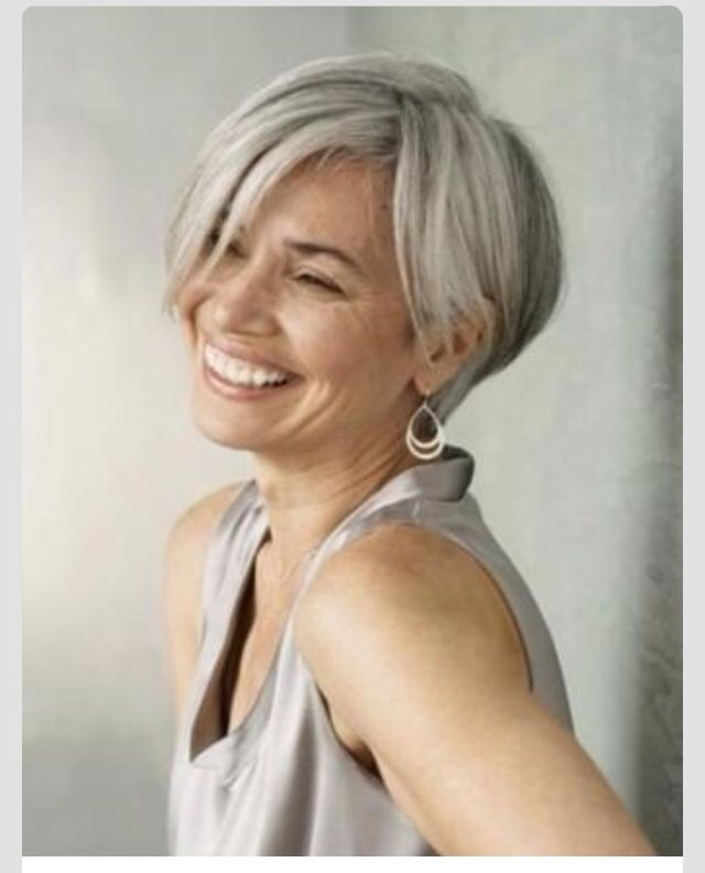 Hairstyles For 60 Year Olds Short Grey Hair