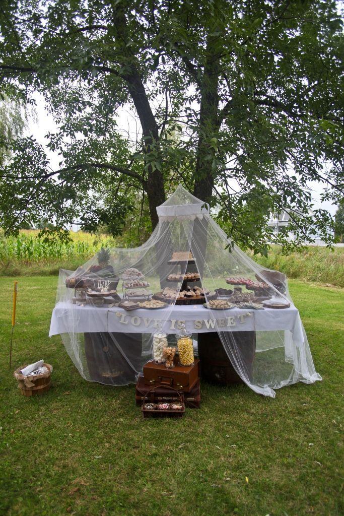 Pin by Kkoehler on Dream wedding | Backyard tent, Wedding ...