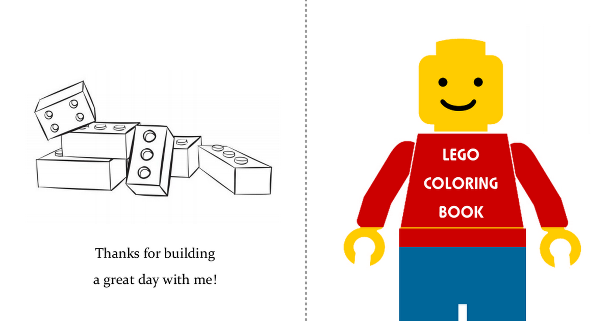 Lego Mini Coloring Book.pdf | birthday parties in 2019 ...