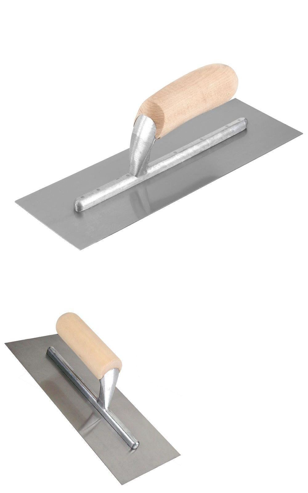 Trowels 168791 Qep Patch Finishing Trowel 4 1 2 In X 11 In No Notch With Wood Handle Buy It Now Only 17 28 On Ebay Trowels P With Images Wood Handle Trowel Wood