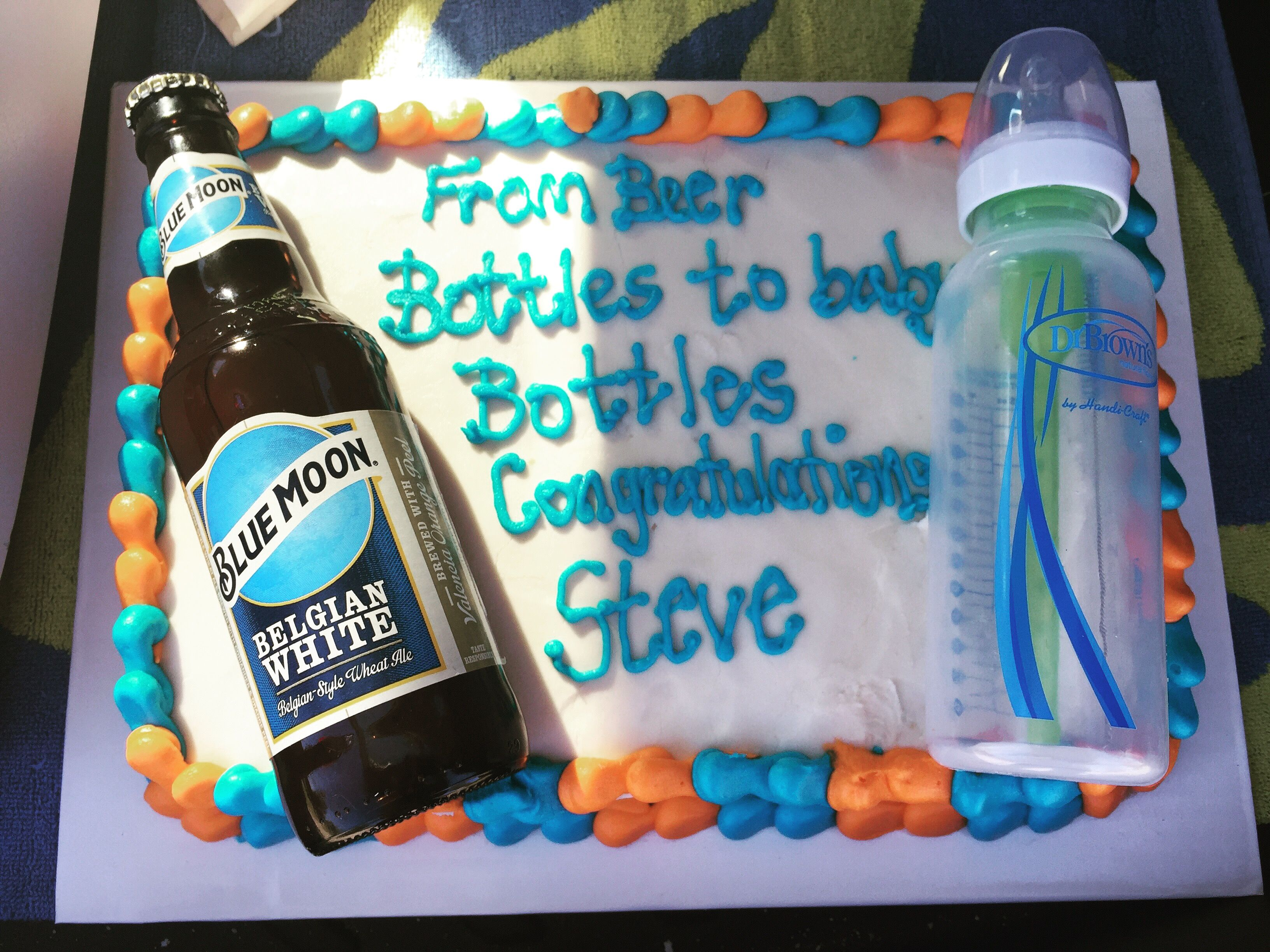 From Beer Bottles To Baby Bottles Cake With Images Bottle Cake