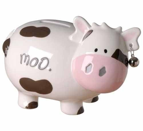 Cow Piggy Bank Piggy Bank Piggy Baby Cows