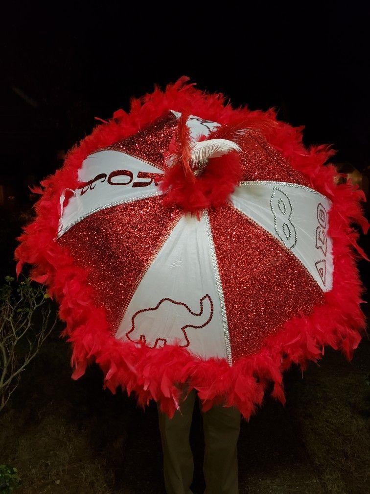 f47dc2cdd21f Delta Sigma Theta Mardi Gras Umbrella | Royal Splendor Events and ...