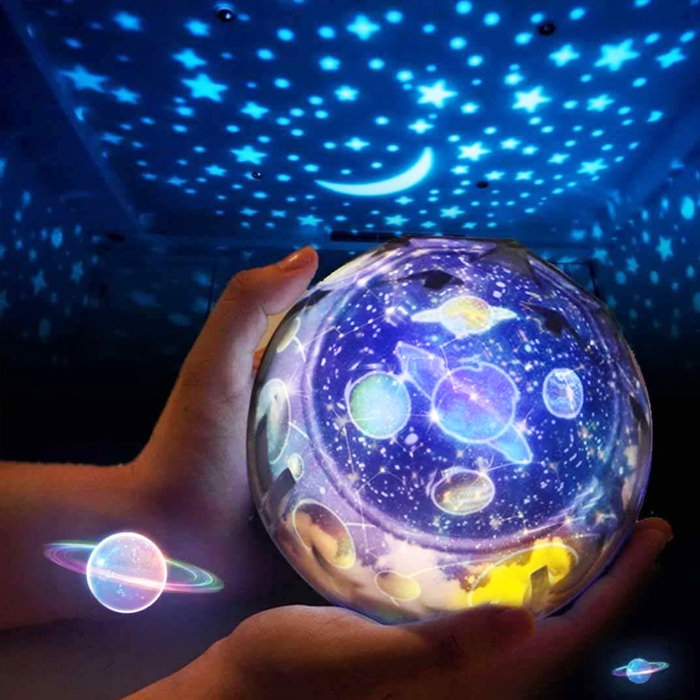 Starry Sky Night Light Planets And Stars Projector Led Lamp In 2020 Star Night Light Night Light Projector Starry Night Light