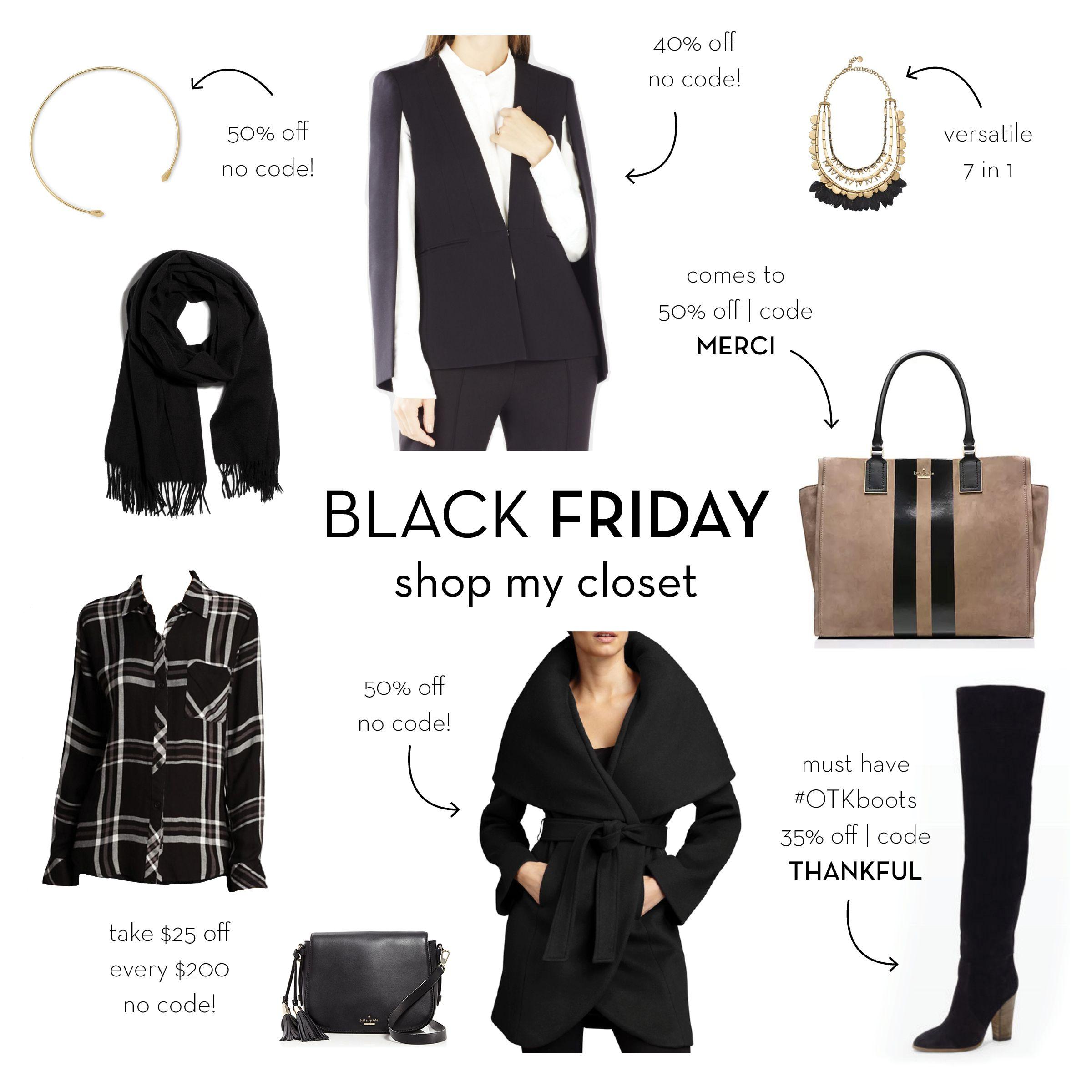 www.justjem.com (follow on insta & twitter @ emilysklar) #blackfriday #giftguide  #blackcoat #wrapcoat #blazer #cape #blazercape #bcbg #upascape #rails #flannel #katespade #otkboots