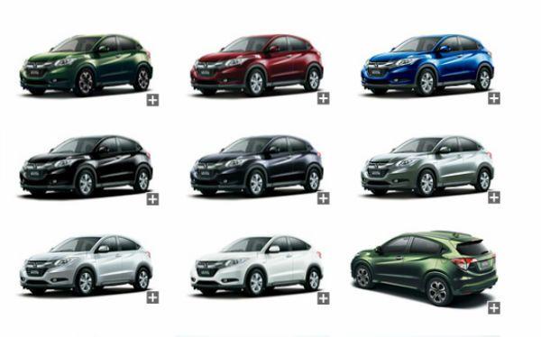 2017 Honda CRV Colors  T
