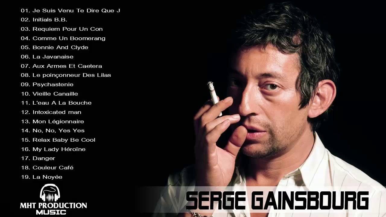 Serge Gainsbourg Best Songs