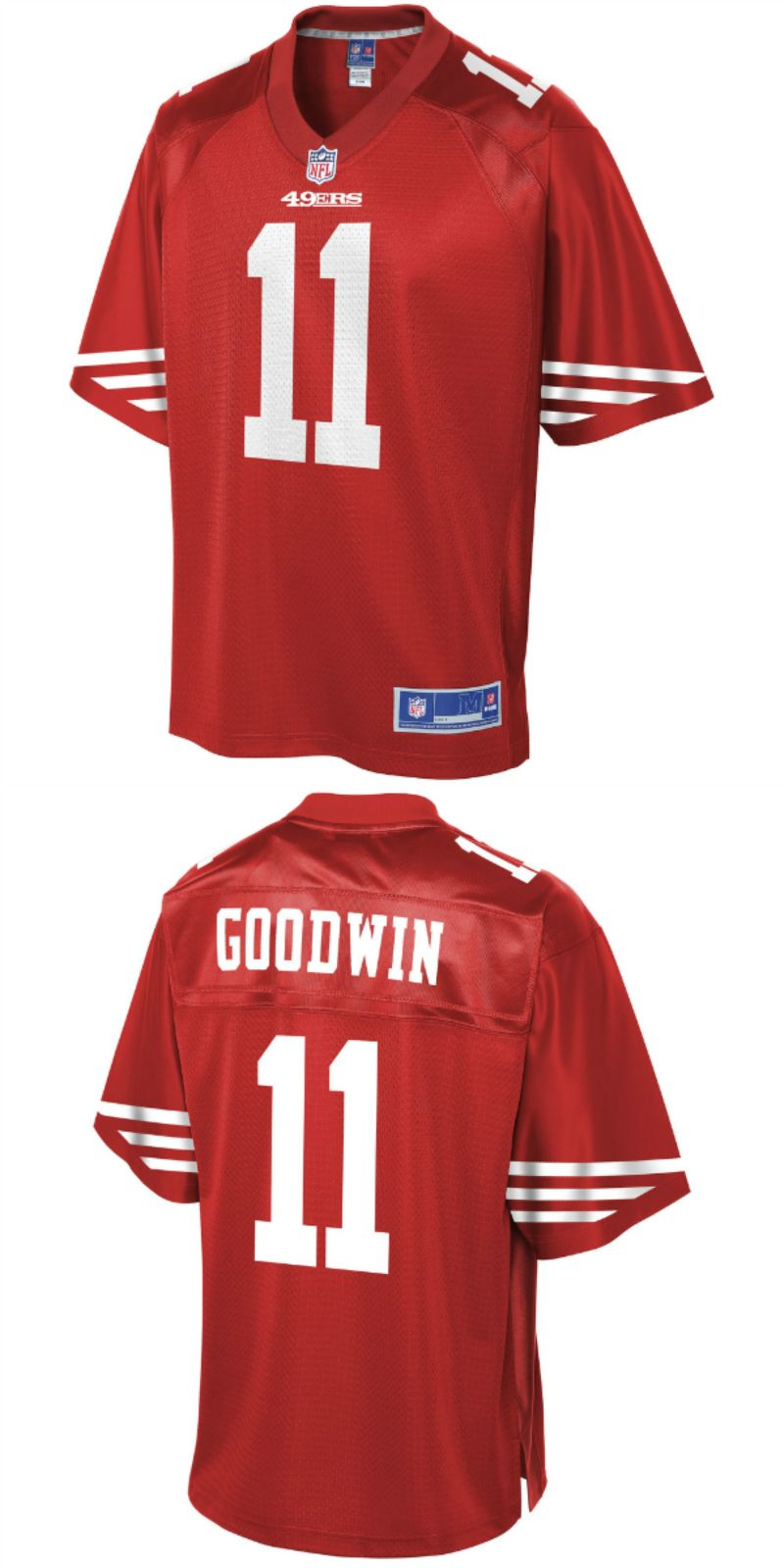 size 40 a66a4 1f619 UP TO 70% OFF. Marquise Goodwin San Francisco 49ers NFL Pro ...