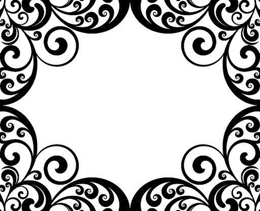 Damask Border Clip Art Clipart Best Clip Art Borders Clip Art Borders For Paper