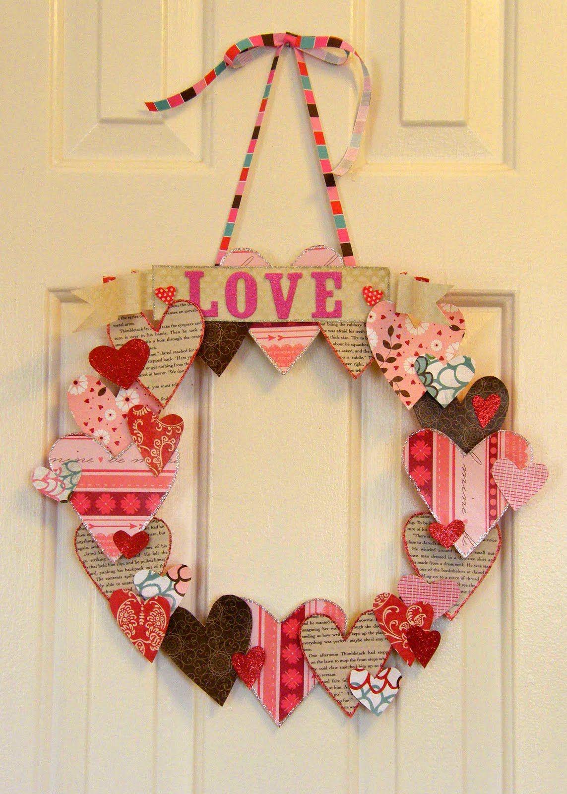 5 Ways To Reuse Greeting Cards Valentine Day Crafts Valentine