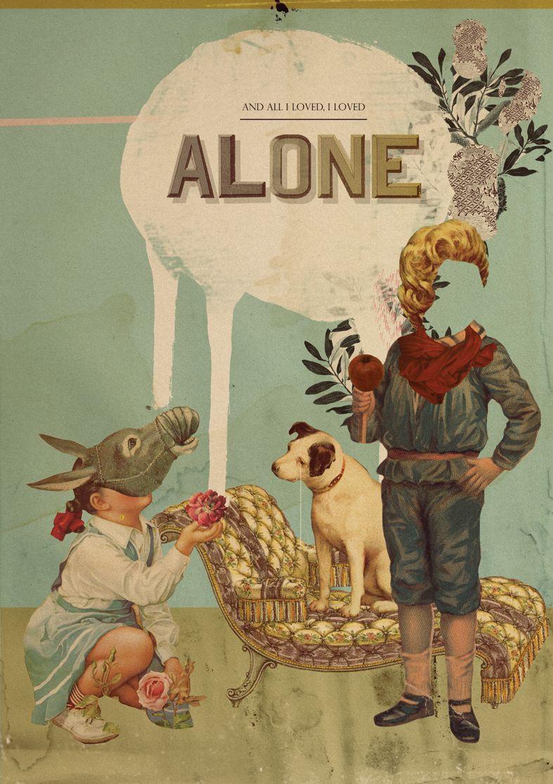 Laurindo Feliciano #Illustration #surrealism #alone #donkey #midsummernightsdream #dog #book #design #poster