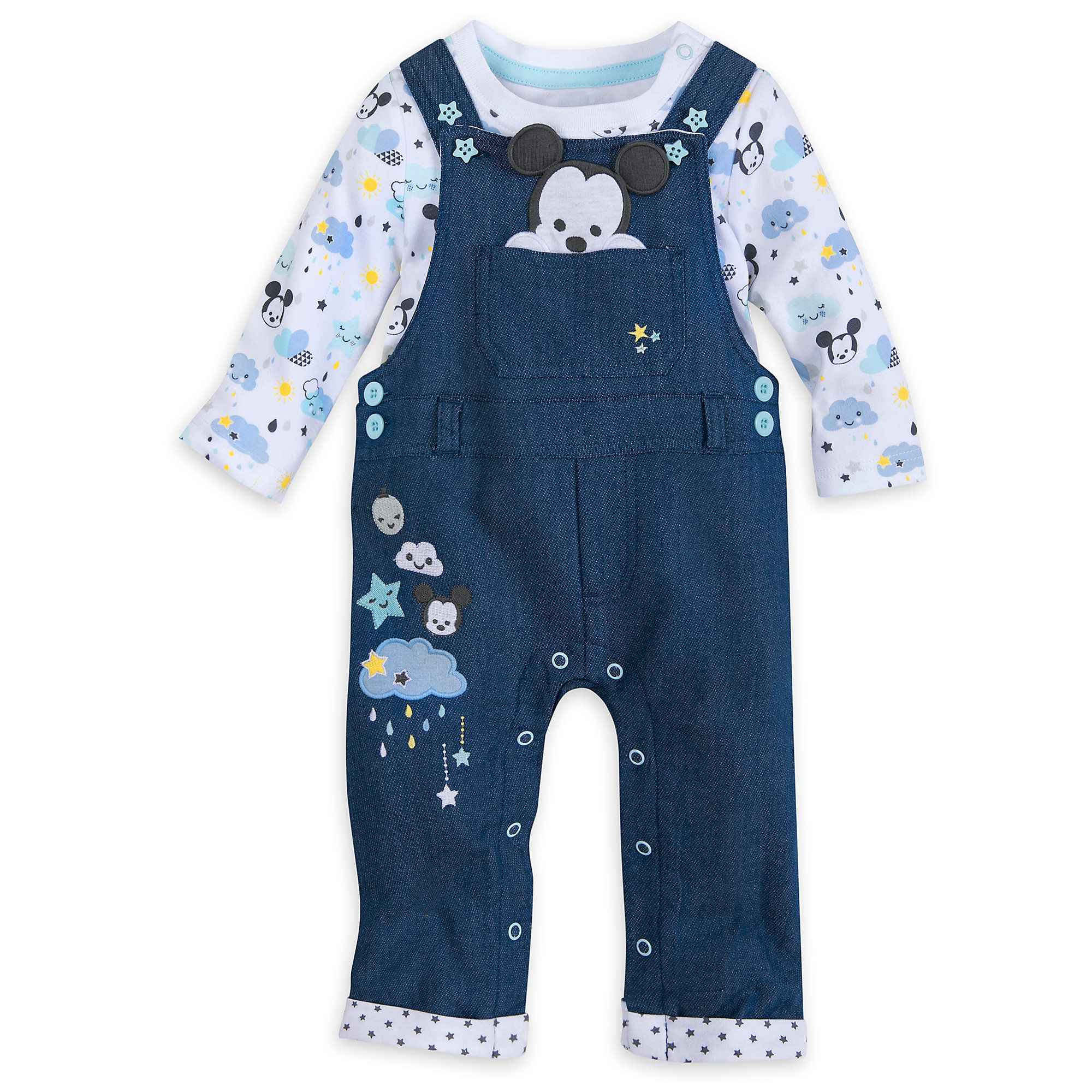 88a0eeed9 Mickey Mouse Dungaree Set for Baby