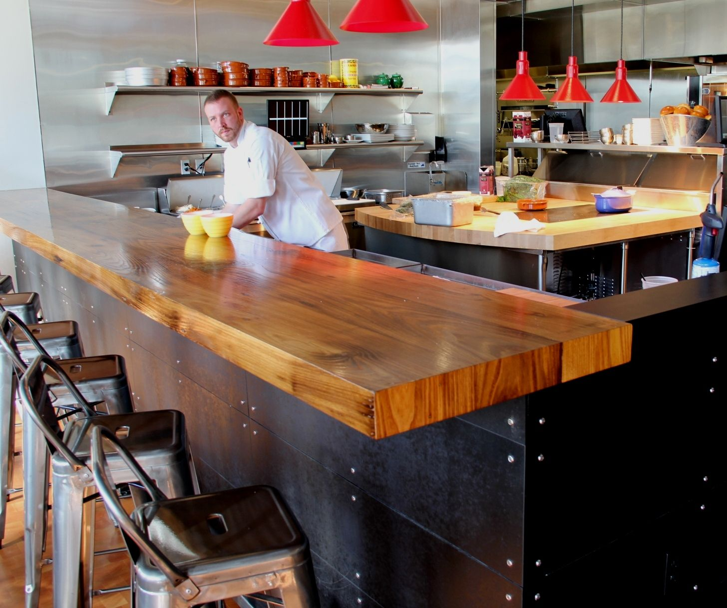 Longleaf Lumber Reclaimed Chestnut Bartop Wood Bar Top Reclaimed Wood Bars Wooden Bar Top