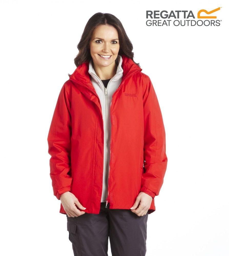 Regatta Jacket Womens Roanstar Waterproof Long Parka Hiking