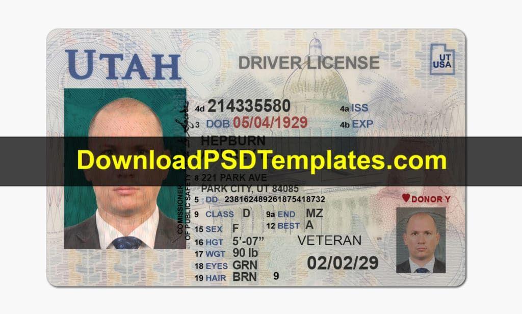 Utah Drivers License Documents