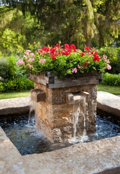Pretty Water Feature