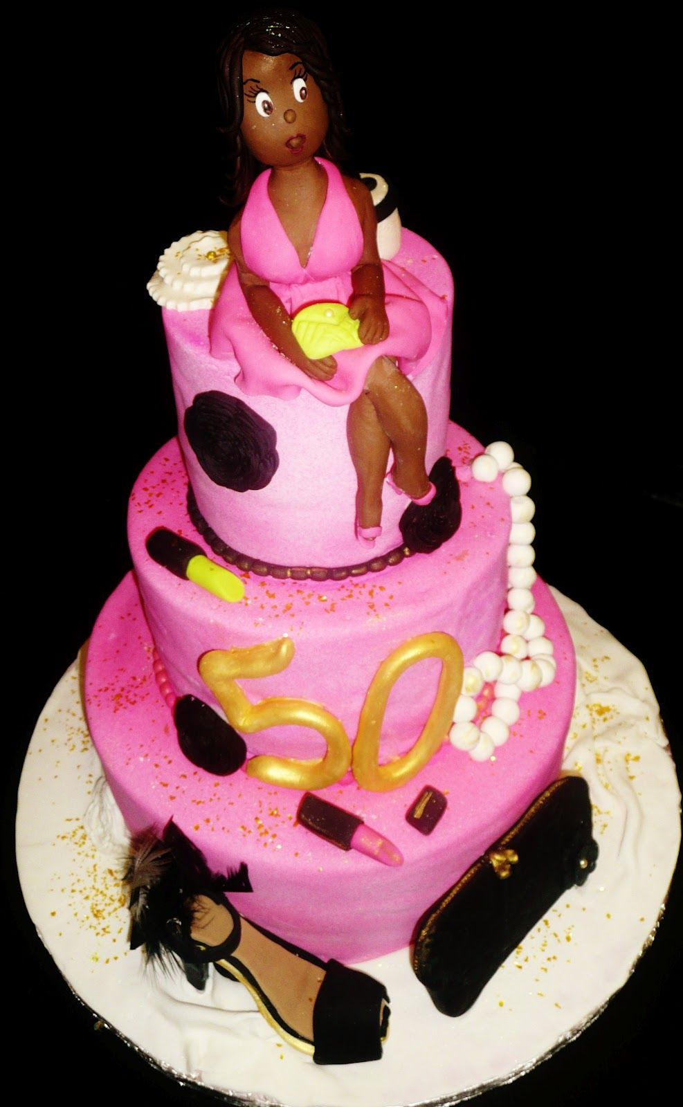 diva birthday cake 50th birthday cakes for www roxanascakes 3579