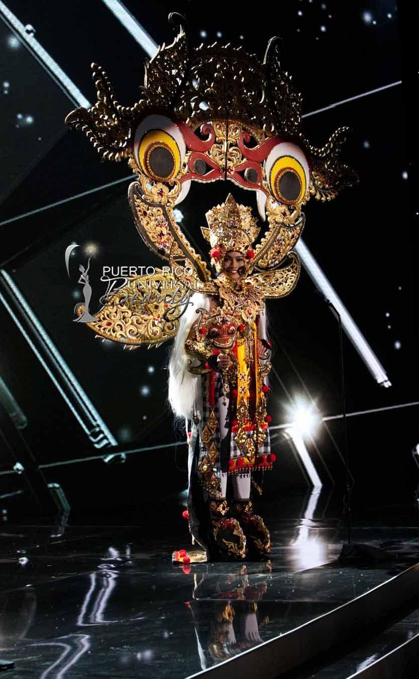 MISS UNIVERSE 2015 :: NATIONAL COSTUME   Anindya Kusuma Putri, Miss Universe Indonesia, debuts her National Costume on stage at Planet Hollywood Resort & Casino Wednesday, December 16, 2015. #MissUniverse2015 #MissUniverso2015 #MissIndonesia #AnindyaKusumaPutri #NationalCostume #TrajeTipico #LasVegas #Nevada
