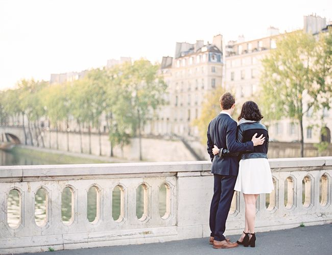 Anniversary photoshoot in paris to celebrate five years