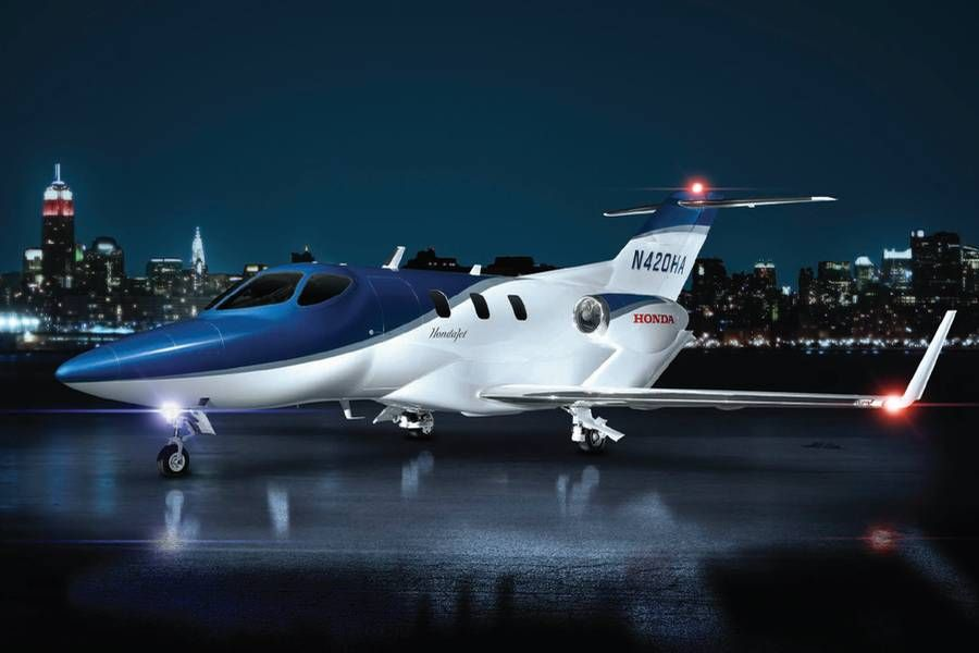Honda MH02 Experimental business jet with forward swept wings - aerospace engineer job description