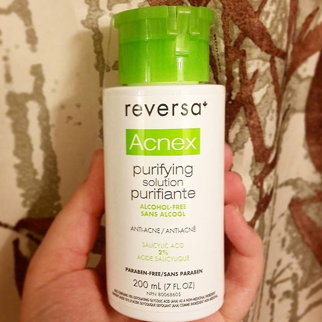 Trying Something New For My Never Ending Breakouts Reversacda Reversa Skincare Anti Acne Alcohol Skin Care